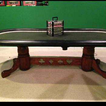Custom made poker table  - Games