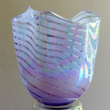 Ribbon Vase by Hineri Japan