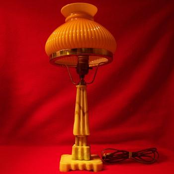 Non Vaseline ; ) Houzex Deco Uranium Onxglas Modernistic Lamp
