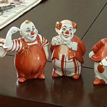 Clown Figurines Made in Korea
