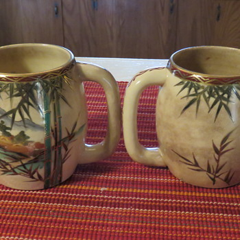 pair of asian cups