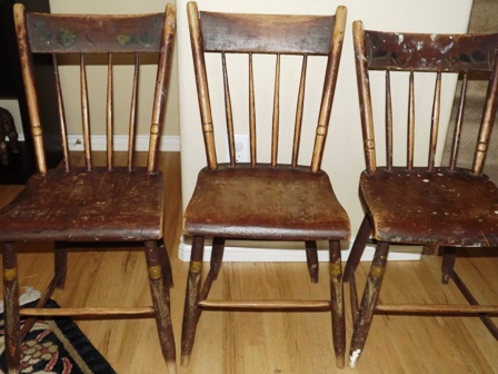 old new england wooden kitchen chairs collectors weekly