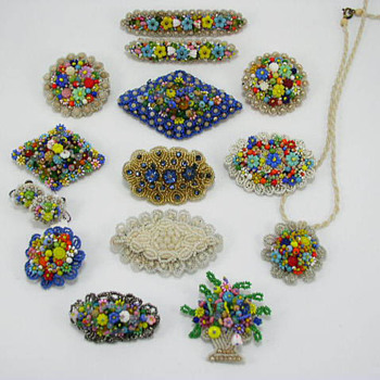 Seed Bead Jewelry collection - Costume Jewelry