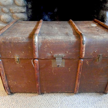 Antique European Trunk
