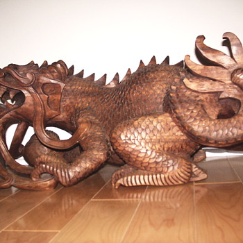 Carved Dragon - Asian