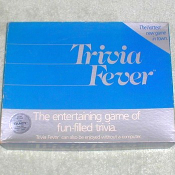 "1984 - ""Trivia Fever"" Board Game"