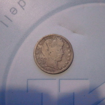 My husband's coin find! - US Coins