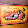 Indian 4 motorcycle sign