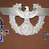 Nazi Germany war medal , pin & emblem for hat?