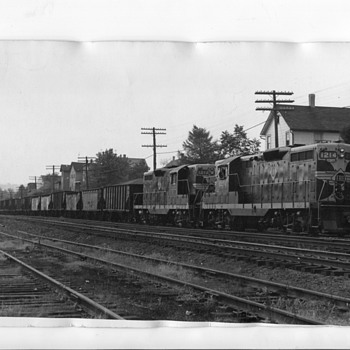 Erie RR Photo - Railroadiana