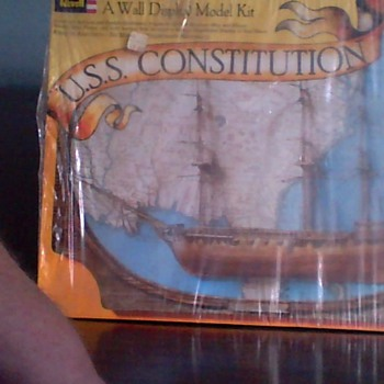 Wall Display Kit Unopened USS CONSITITUTION