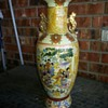 Hand painted vase.