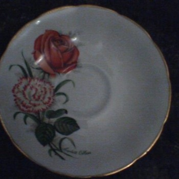 Jason Bone china- scarlett O'Hara pattern. - China and Dinnerware