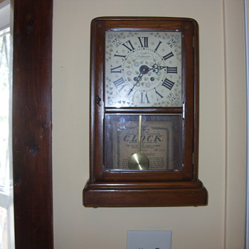 new england 8 day clock - Clocks