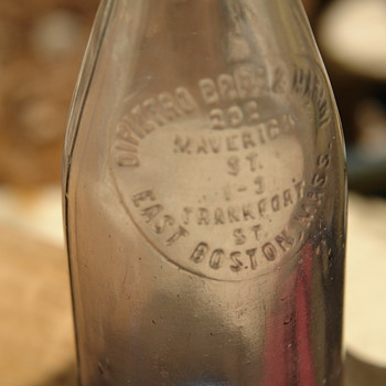 Prohibition, Mob Style dug bottle