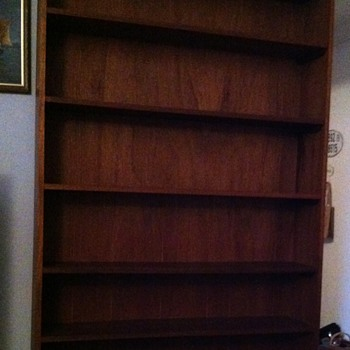 Custom made bookcase.