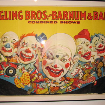 Ringling Brothers Barnum and Bailey Posters at Shelburne Museum