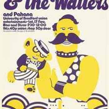 Bizarre Bob Marley and the Wailers concert poster - Music