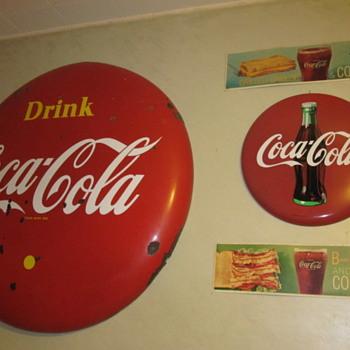 Coca Cola Buttons