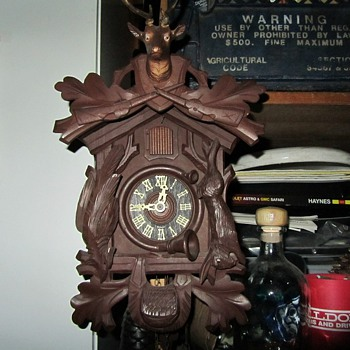 Scheckenbecher Cuckoo Clock
