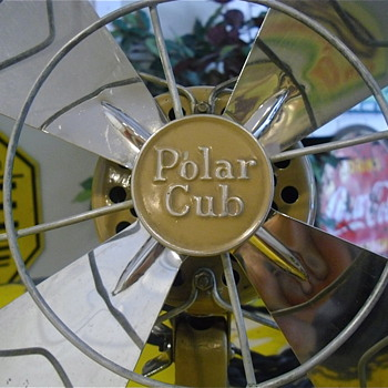 Polar Cub all original fan in full working order. - Tools and Hardware