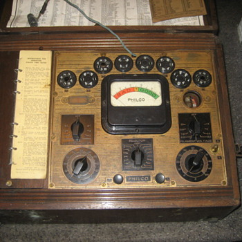 Philco Tube Tester Model 066? - Radios