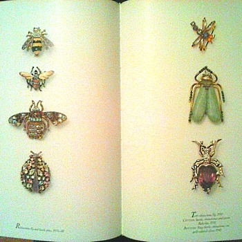 """Gems of Costume Jewelry""  Part Two / Insects-Spiders-Leaves and Bling!"