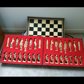Help me learn more about this chess set please=( - Games