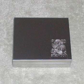 Stanton stylus cartridge metal tin