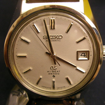 1968 Grand Seiko Date 6145-8000 Automatic - Wristwatches