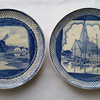 wedgwood etruria wall plates - China and Dinnerware