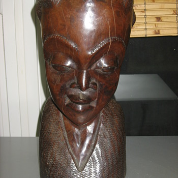 African folk art carving