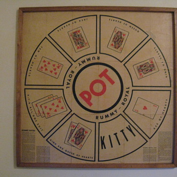 RUMMY-ROYAL WHITMAN PUBLISHING CO. C.1937 ORIGINAL - Games
