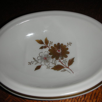Lefton China soap dish 6124 - China and Dinnerware