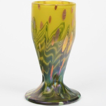 LOETZ  CYTISUS  c 1902 - Art Glass