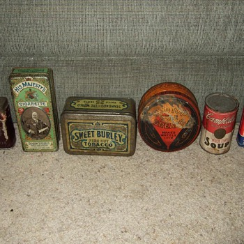 My collection of Old Tins - Advertising
