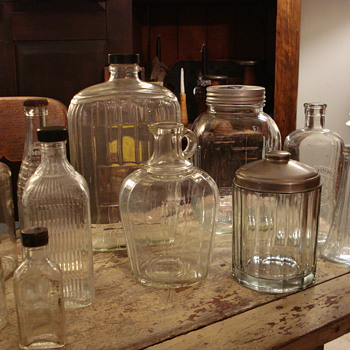 Vintage Bottles - Bottles