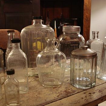Vintage Bottles - Bottles