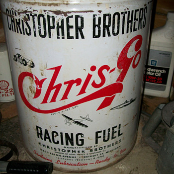 5-gallon racing fuel can - Petroliana