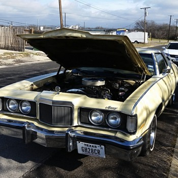 1976 mercury cougar great grandmas car since new