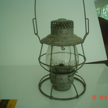 Monon railroad lantern