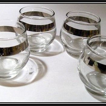 Libbey Glass - Roly Poly Type ( Low Ball glasses )