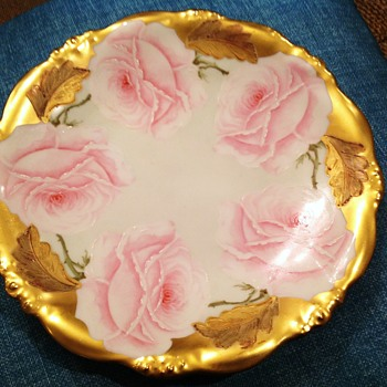 A Limoges Plate, made by Elite Works in France - China and Dinnerware