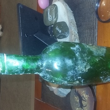 Ran across a old dump found alot of Green and blue bottles - Bottles