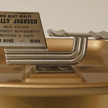 1960s Wally Advertising Ashtray