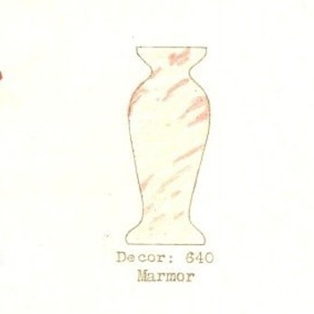 RUCKL MARMOR, MARKED. - Art Glass