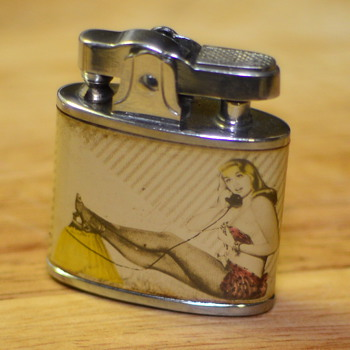 1950's Pin-up girl lighter