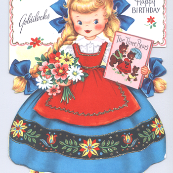 Golidlocks | Fairfield Birthday Story Card