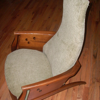 vintage modern chair Who am I? Danish? Swedish? - Mid Century Modern