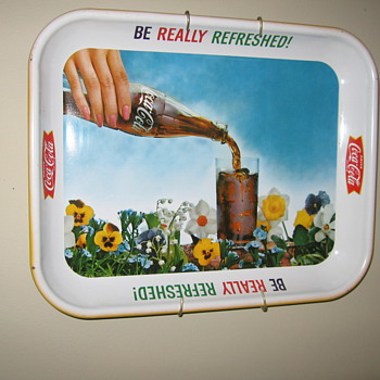 1960&#039;s Coca-Cola Tray
